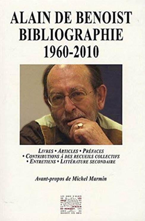 Alain de Benoist Bibliographie