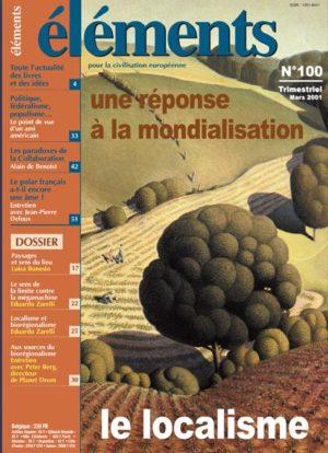 Une réponse à la mondialisation : le localisme (Version PDF)