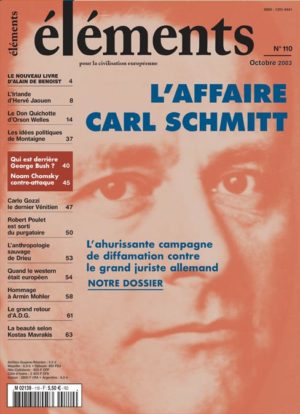 L'affaire Carl Schmitt