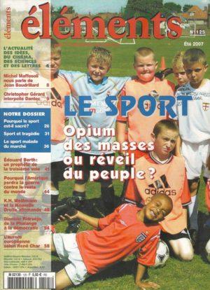 Le Sport : Opium des masses ou réveil du peuple ?