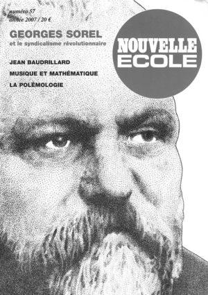 Georges Sorel et le syndicalisme révolutionnaire