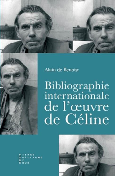 Bibliographie Céline Alain de Benoist