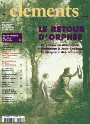 Le retour d'Orphée (Version PDF)