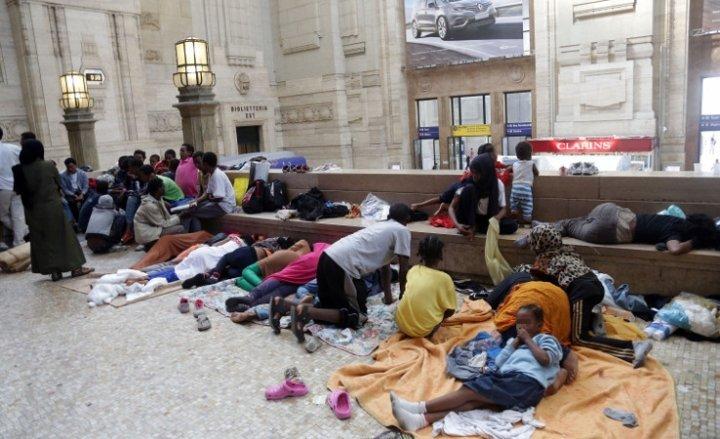 Immigration-Italie