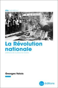 La révolution nationale Valois