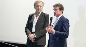 BHL et Manuel Valls