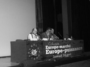 Colloque sur l'Europe
