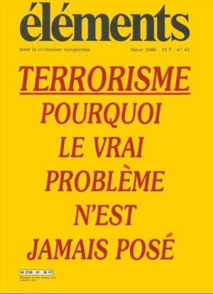 Terrorisme : le vrai problème (version PDF)
