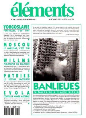 Banlieues, la barbarie à visage urbain (version PDF)