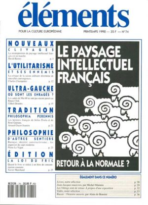 Le paysage intellectuel français (version PDF)