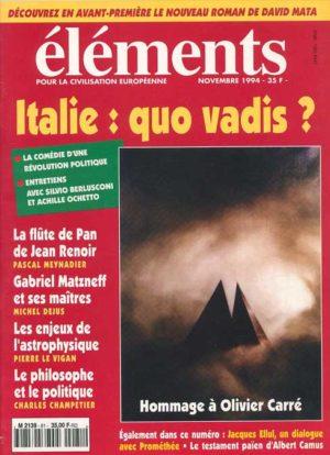 Italie : quo vadis ? (version PDF)