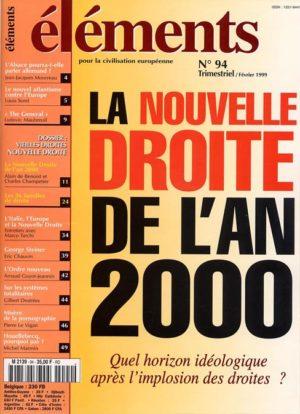 La nouvelle droite de l'an 2000 (version PDF)