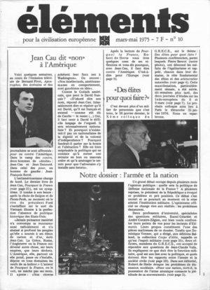 Jean Cau contre l'Amérique  (version PDF)