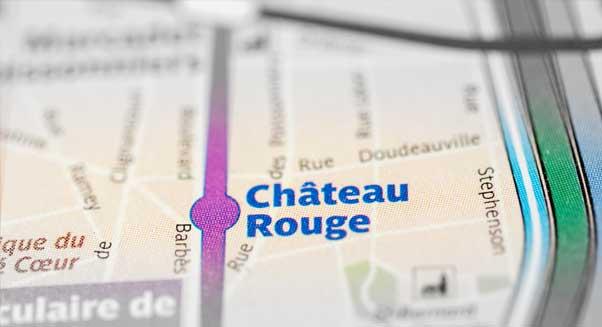 Station Château rouge